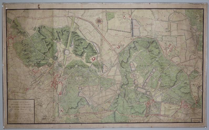plan meudon et chaville may 1723