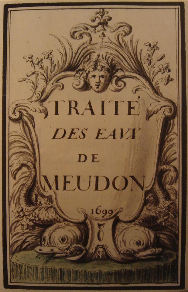 traité des eaux de Meudon